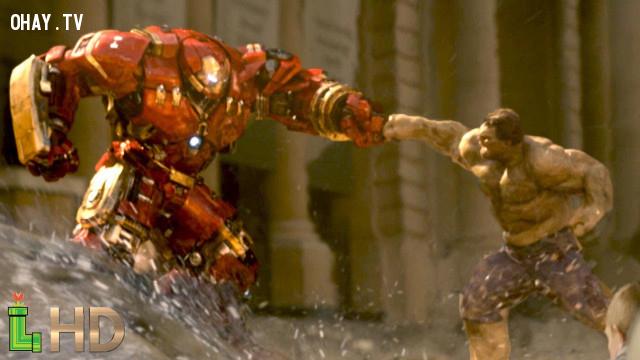 8. Hulk vs Hulk Buster ( Avengers: Age of Ultron ),phim marvel