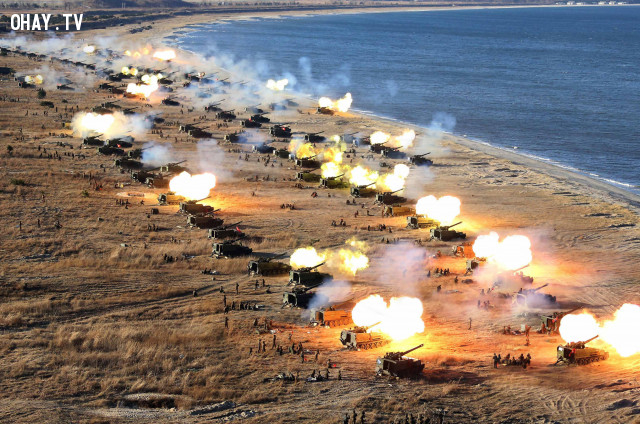 Triều Tiên sẽ tấn công phủ đầu Hàn Quốc ?,triều tiên,hàn quốc,chiến tranh,chuyện gì xảy ra nếu
