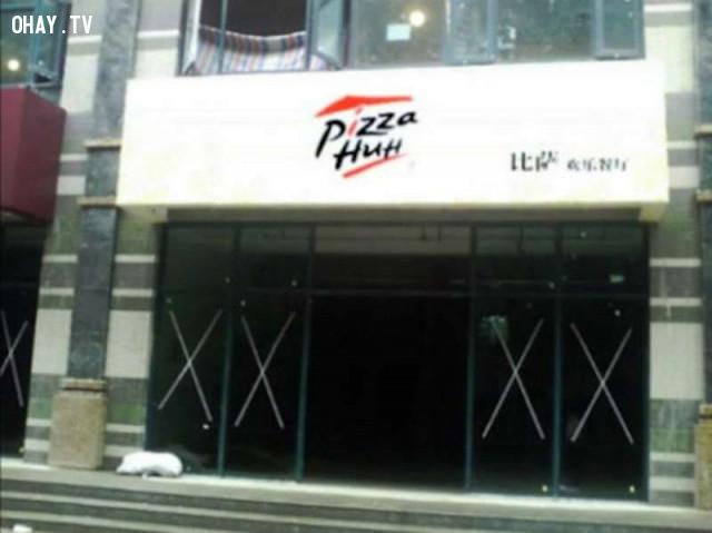 9. Pizza Huh?,hàng trung quốc,hàng giả,nhái thương hiệu,nhái tên