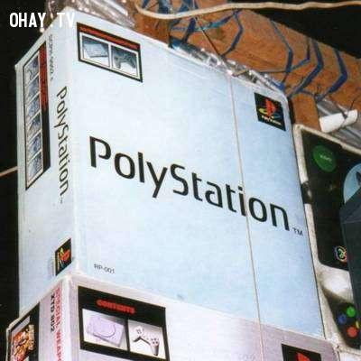 15. Playstation và Polystation,hàng trung quốc,hàng giả,nhái thương hiệu,nhái tên