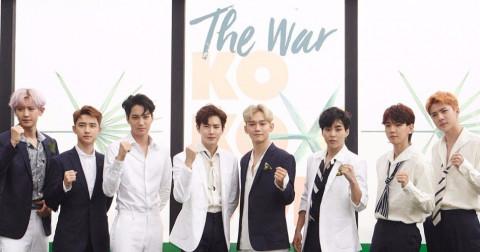 EXO lập kỷ lục lần thứ 4 bán được 1 triệu album với The War sau 24 ngày phát hành