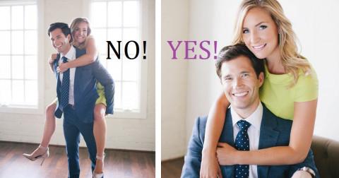 Bỏ túi 8 mẹo nhỏ giúp bạn tạo dáng chụp ảnh cặp đôi đẹp hơn