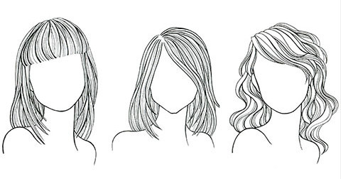 Cách chọn kiểu tóc phù hợp với khuôn mặt nữ