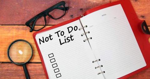 Vì sao một danh sách những việc không cần làm mang lại nhiều hiệu quả hơn?