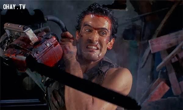 Thứ nhất,Cưa lốc loại vũ khí có uy lớn vô cùng lớn,zombie,kỹ năng sinh tồn