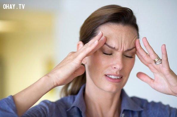 1.  Bạn có thể bị chứng đau nửa đầu,đau đầu buổi sáng,nguyên nhân gây đau đầu,chữa đau đầu