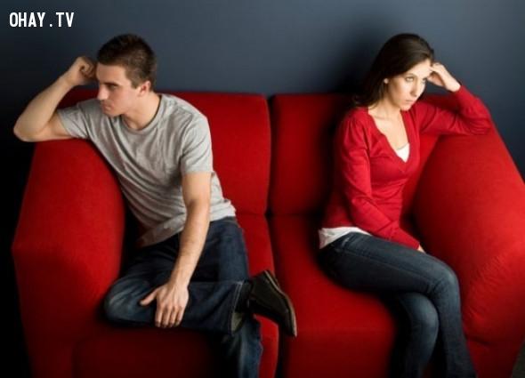 4. Ngay sau khi chúng tranh luận cãi vã xảy ra, bạn vẫn luôn tin tưởng và yêu người ấy.,