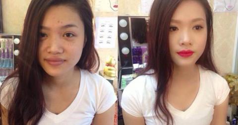 Loạt ảnh cho thấy sự thần kì của Makeup