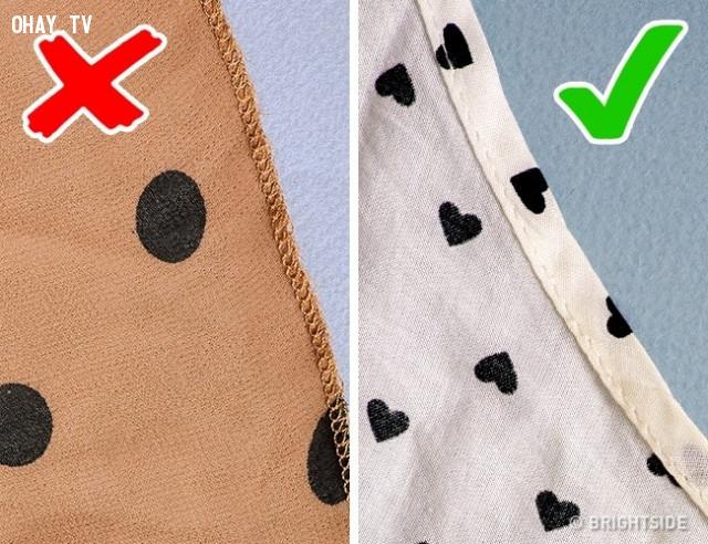 4. Đường mép quần áo không được để quá hẹp,mẹo chọn quần áo,mẹo thời trang,mẹo mua sắm