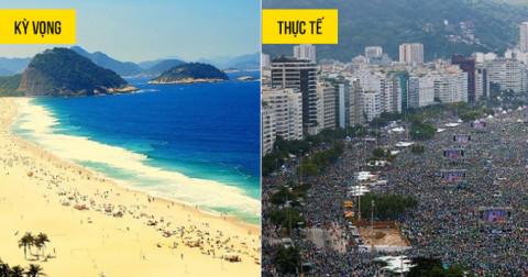 15 địa điểm du lịch nổi tiếng có khung cảnh khác hoàn toàn so với tưởng tượng