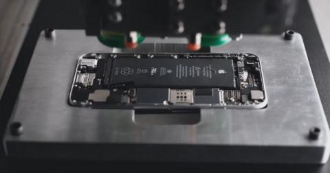 Đây là quá trình tiêu hủy và tái chế những chiếc điện thoại iPhone của Apple