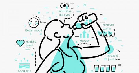 Làm thế nào để uống nhiều nước hơn mỗi ngày?