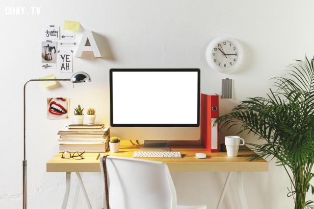 """3. Thiết kế """"văn phòng tại gia"""",làm việc tại nhà,freelancer,công việc tự do,việc bán thời gian"""