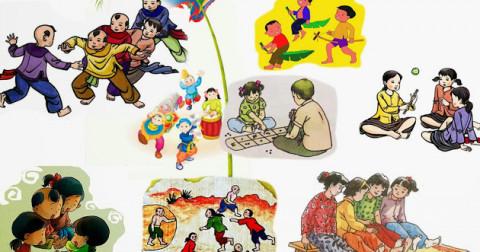 Những trò chơi dân gian gắn liền với kỉ niệm tuổi thơ