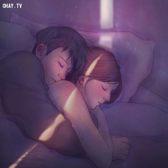 #2 Ngủ ngon trong vòng tay của chàng,