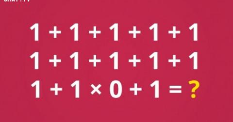 6 câu đố sẽ làm cho bạn bị rối não