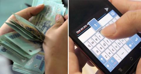 Giả vờ cần tiền gấp nên gửi tin nhắn cho 9 người bạn thân, 7 người từ chối, 2 người còn lại nói…