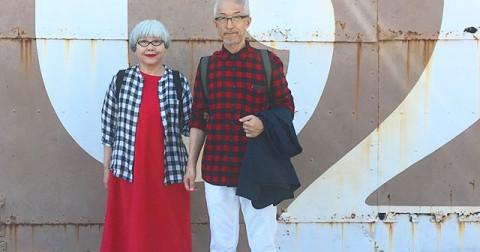 Phát cuồng với phong cách thời trang độc đáo của cặp vợ chồng người Nhật Bản