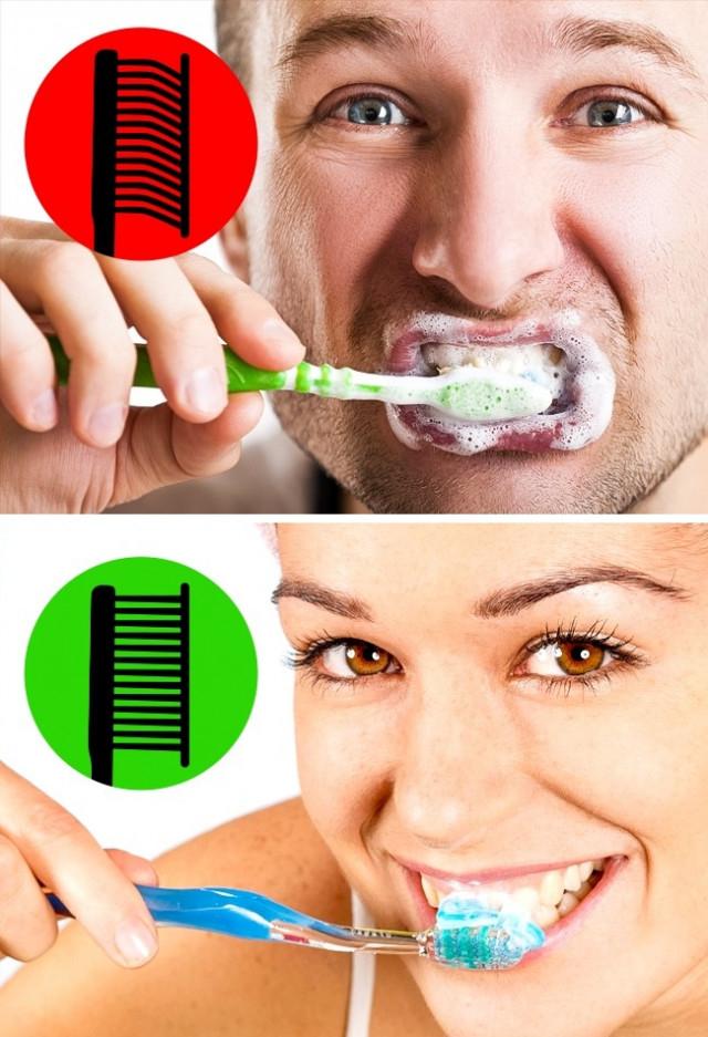 1. Chải răng quá mạnh,chăm sóc răng miệng,sai lầm nên tránh,chải răng quá mạnh,đánh răng đúng cách,lấy cao răng,chỉ nhai bằng một bên hàm