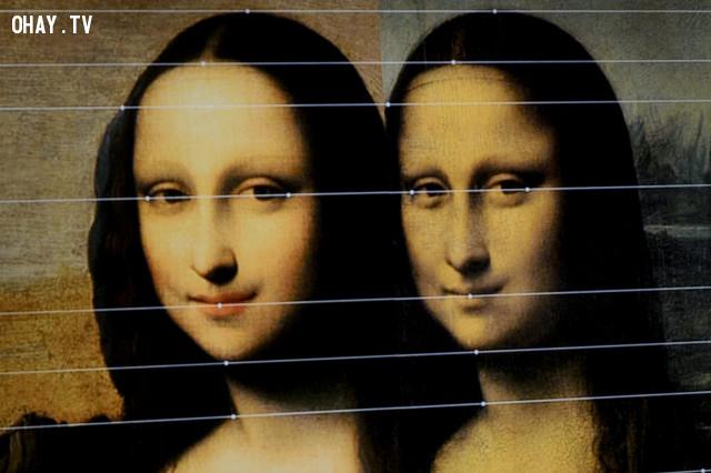 """3. Mona Lisa thay đổi nét mặt từ """"vô hồn thành vui"""",hiệu ứng mandela,những điều thú vị trong cuộc sống"""
