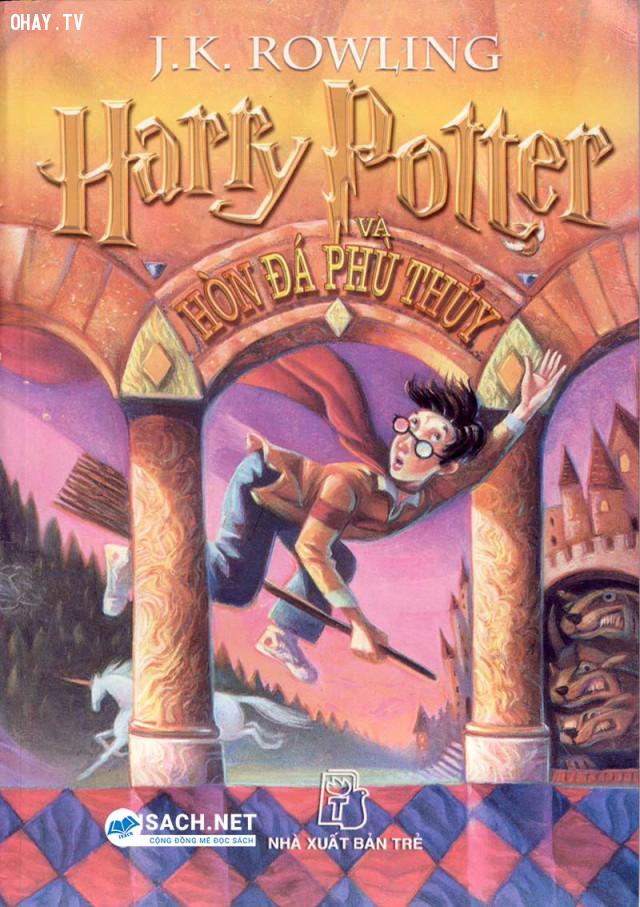 Harry Potter và Hòn đá phù thủy - J.K. Rowling,sách kinh điển,sách hay nên đọc,sách thay đổi cuộc đời