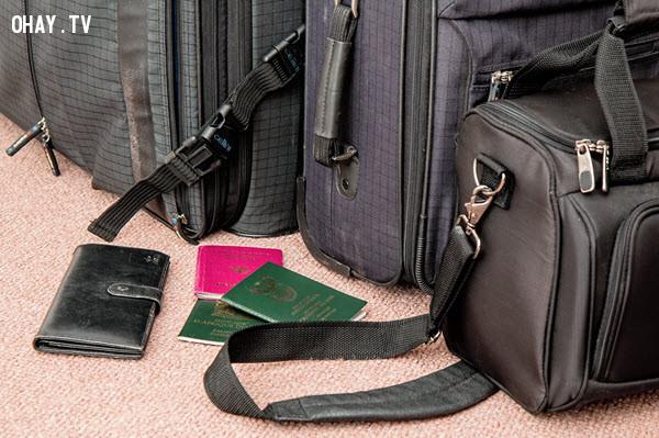 1. Kiểm tra hộ chiếu và các tài liệu du lịch khác của bạn,mẹo du lịch,du lịch nước ngoài,kinh nghiệm du lịch nước ngoài