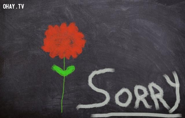1. Chấp nhận trách nhiệm,học cách xin lỗi
