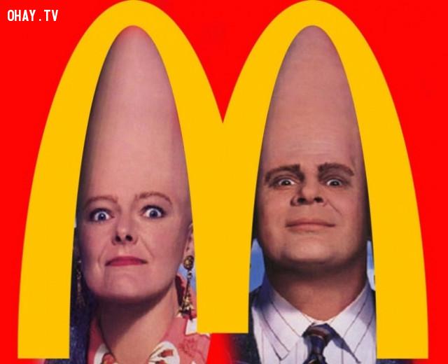 1. McDonald's,
