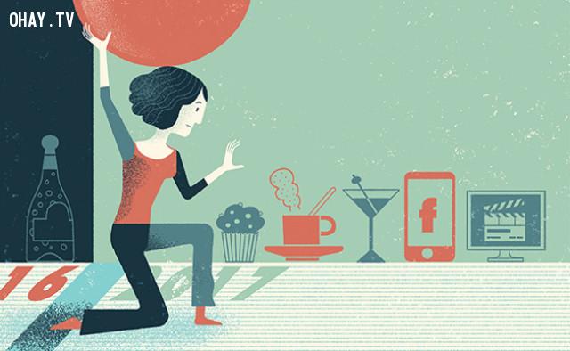 6. Đưa ra những mục tiêu khả thi,cân bằng cuộc sống,cách giảm stress