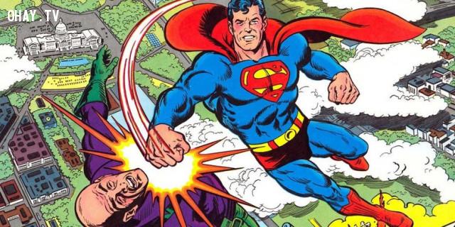 5. Kẻ thù truyền kiếp của Superman,superman