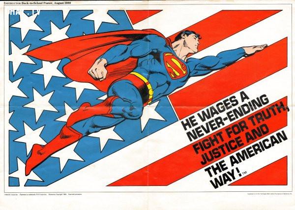 1. Superman là một người ngoài hành tinh mang quốc tịch Mỹ:,superman