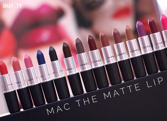 MAC,son môi nào tốt,son môi hot nhất 2017,nên mua son môi hãng nào