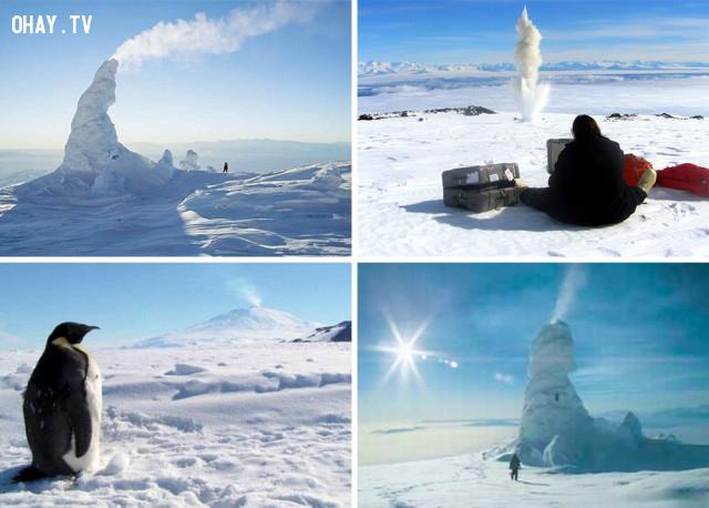 2. Núi lửa phun băng,hiện tượng kỳ lạ,hiện tượng thiên nhiên