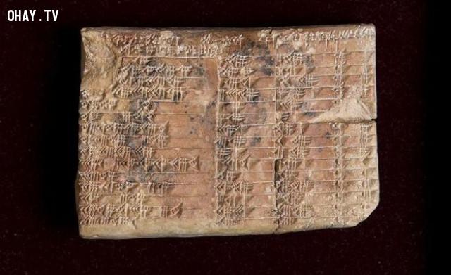 4. Người Babylon mới là những người đầu tiên phát minh ra lượng giác,