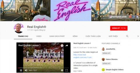10 kênh YouTube tuyệt vời để học tiếng Anh