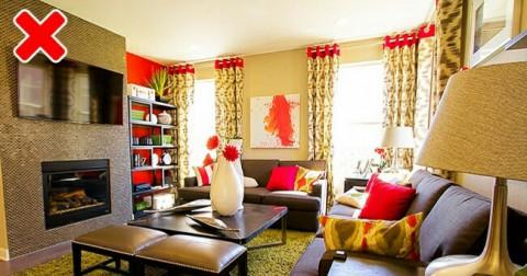 11 lỗi sắp xếp nội thất khiến căn phòng của bạn kém thu hút