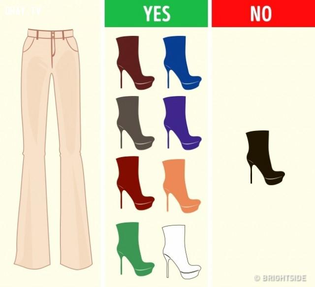 Màu nude,cách phối giày,cách phối đồ,mẹo thời trang