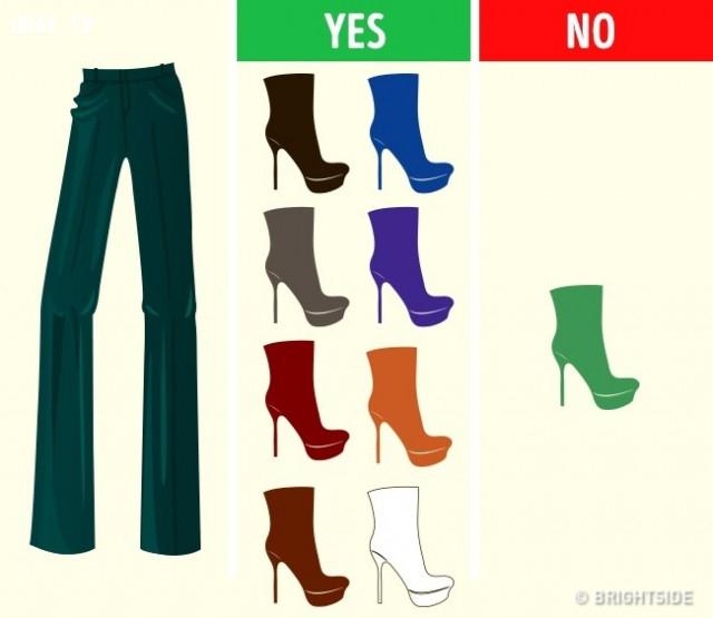 Đối với màu xanh lá, xanh ô-liu, xanh ka-ki,cách phối giày,cách phối đồ,mẹo thời trang