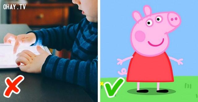 11. Xem phim hoạt hình,nguyên tắc dạy con,cách dạy con,nuôi dạy con cái