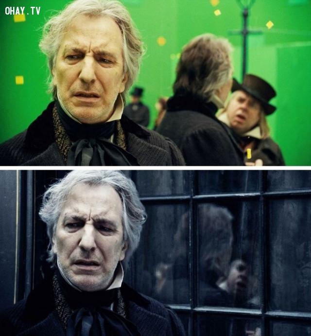 Một số cảnh quay trong phim Sweeney Todd: The Demon Barber of Fleet Street,kỹ xảo điện ảnh,xử lý hậu kỳ,công nghệ làm phim