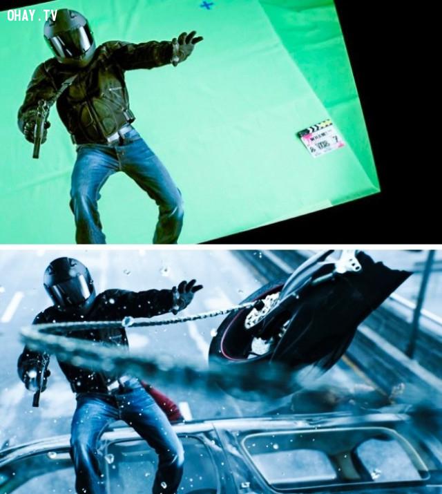 ,kỹ xảo điện ảnh,xử lý hậu kỳ,công nghệ làm phim