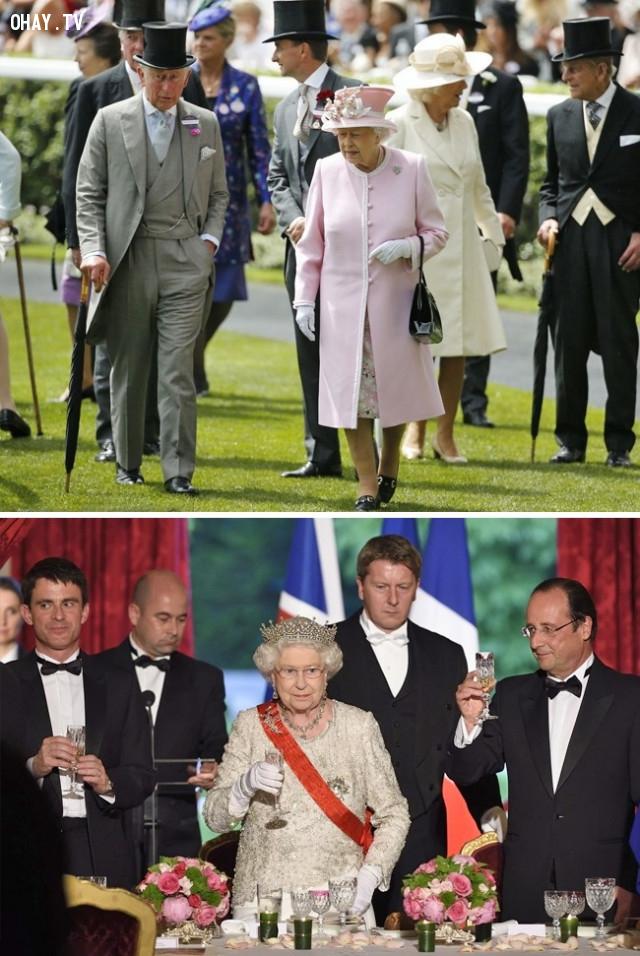 Mọi người đều theo sau Nữ hoàng,hoàng gia anh,những điều thú vị trong cuộc sống,sự thật thú vị
