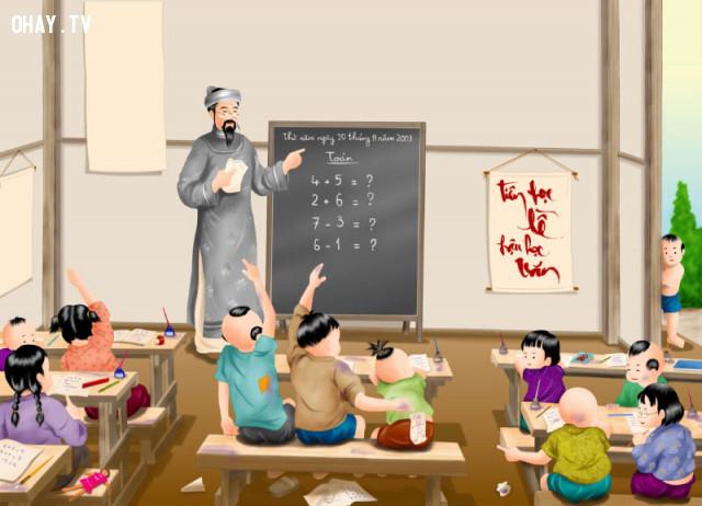 9. Một gánh sách không bằng một người thầy giỏi - Ngạn ngữ Trung Quốc,câu nói ý nghĩa,câu nói hay về thầy cô giáo