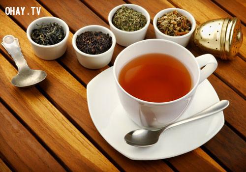 2. Có chứa chất chống oxy hoá,uống trà,thức uống tốt cho sức khỏe,trà xanh