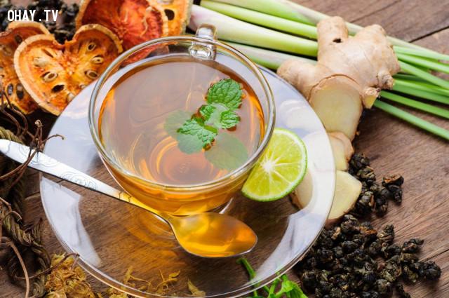 3. Lợi ích từ trà thảo mộc,uống trà,thức uống tốt cho sức khỏe,trà xanh