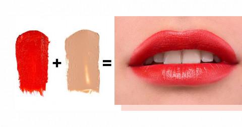 5 cách mix màu son cực đẹp cho các bạn nữ