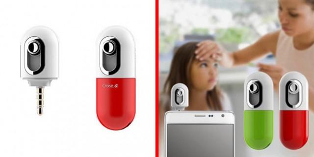 1. Nhiệt kế,điện thoại thông minh,smartphone,mẹo sử dụng điện thoại