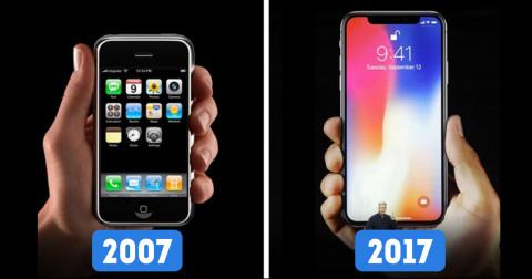 Sự thay đổi từ 2007 - 2017 qua 10 ảnh ấn tượng nhất
