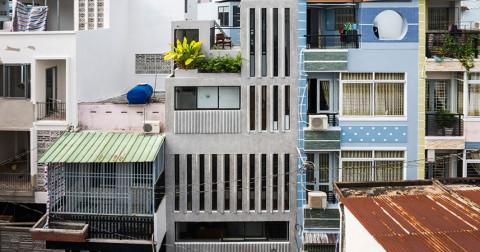 Thiết kế độc đáo của ngôi nhà diện tính khiêm tốn 18m2 tại Sài Gòn