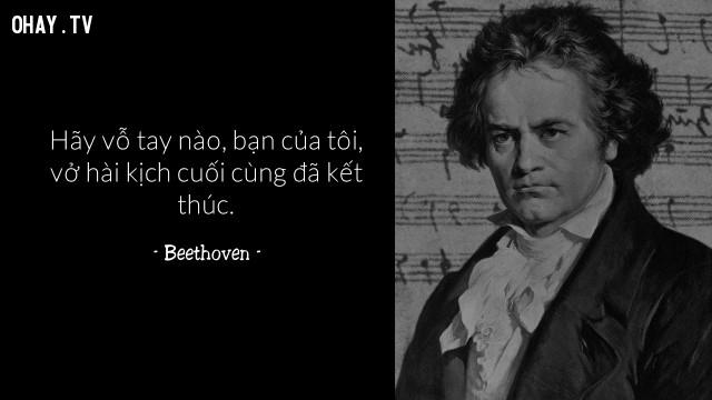 Beethoven,câu nói hay,cái chết,qua đời